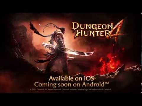 Dungeon Hunter 4 Coming to Windows Phone 8 OFFICIAL Trailer