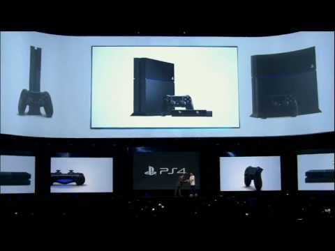 Playstation 4 Console Unveiling - E3 2013 Sony Conference - Eurogamer