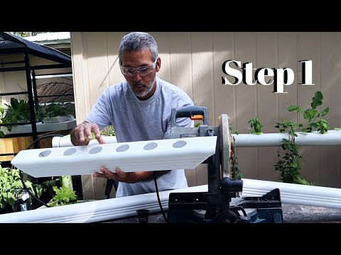 How To Make A Downspout Garden / Common Questions / Gutter Garden / DIY Hydroponics
