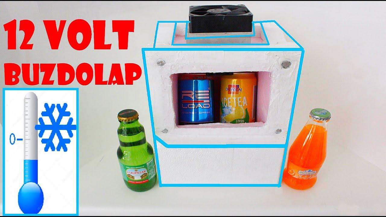 mini buzdolabı yapımı