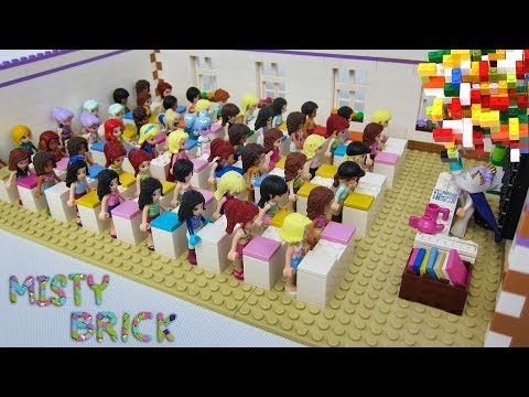Lego Friends Classroom