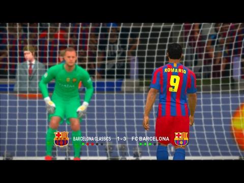 Barcelona Classic vs Barcelona 2016/17 - PES 2017 Penalty Shootout