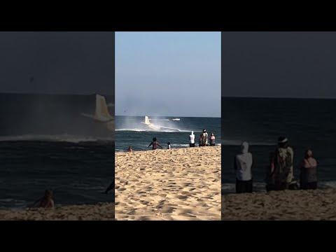 Josh Healy - Plane Makes Emergency Landing in the Ocean