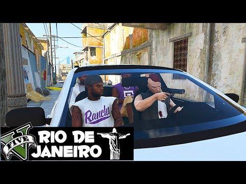 GTA V VIDA DO CRIME : #PCR PORR@ 🔫 🔫 GTA 5 ROLEPLAY ! RIO DE JANEIRO