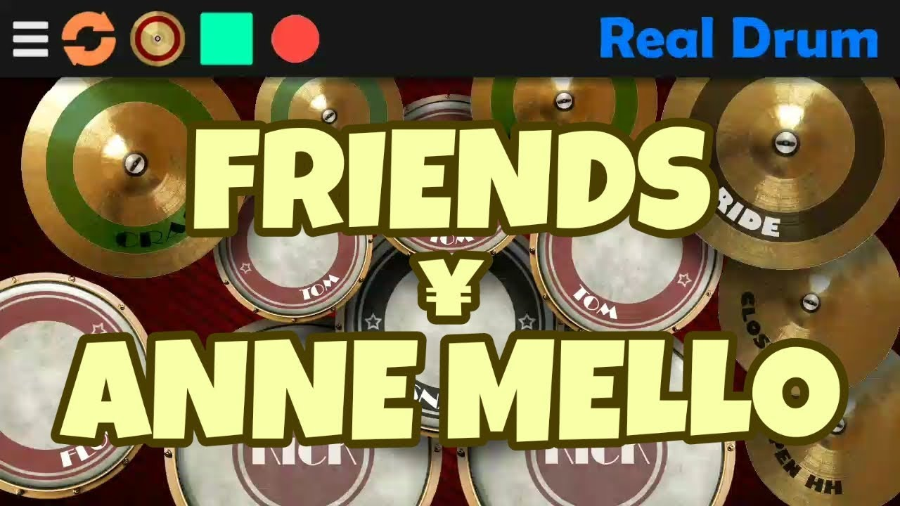 Marshmello ft. Anne Marie - FRIENDS - (Mobile x Real Drum Cover)