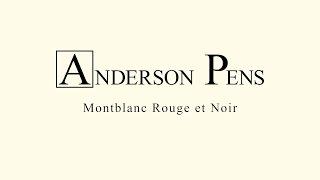 Montblanc Rouge et Noir