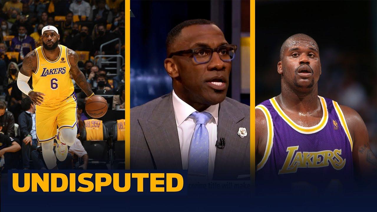 Download Shaq says LeBron getting scoring record will make him the GOAT - Skip & Shannon I NBA I UNDISPUTED