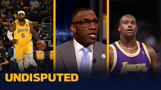 Shaq says LeBron getting scoring record will make him the GOAT - Skip & Shannon I NBA I UNDISPUTED