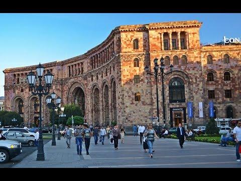Ереван - древний город-столица Армении. Երևան:
