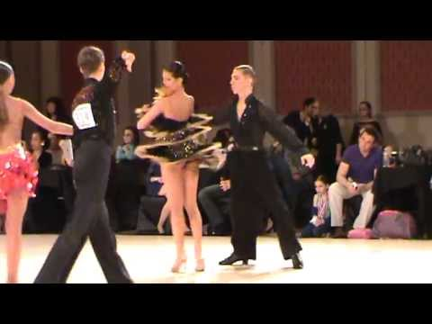 Mark Irgang 1st Place for 4 Latin Dances, American Star Ball 2013, Youth Pre-champ
