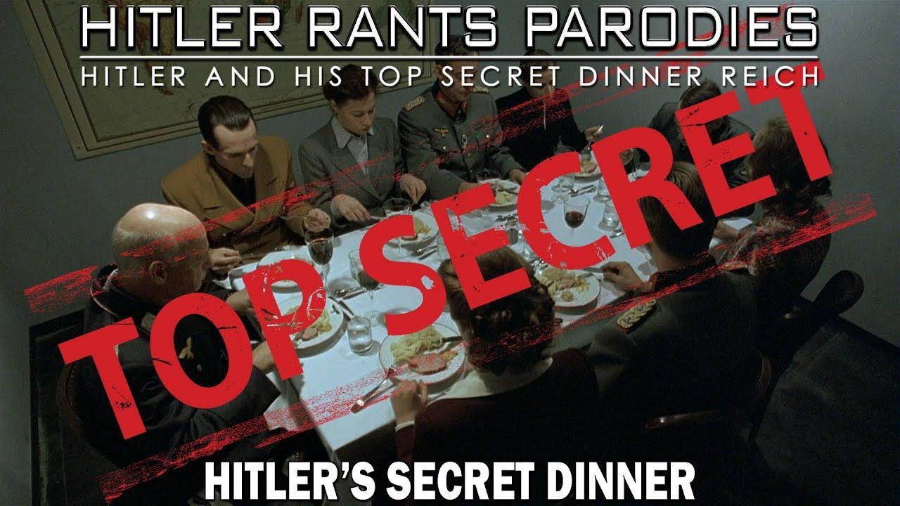 Hitler's secret dinner