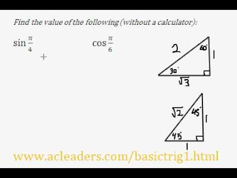Trigonometry, ratios & the calculator ppt download.