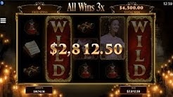 BIG WIN On The Phantom of the Opera Slot Machine from Microgaming