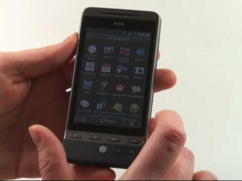 HTC Hero Test Bedienung