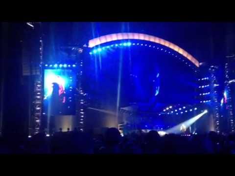 Robbie Williams 'Angels' encore Hannover 27.07.13
