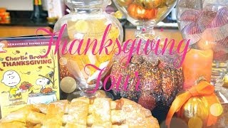 The Glam Apartment Tour: Thanksgiving Home Decor Edition! Thumbnail