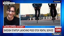 Cangoroo launches pogo stick rental service