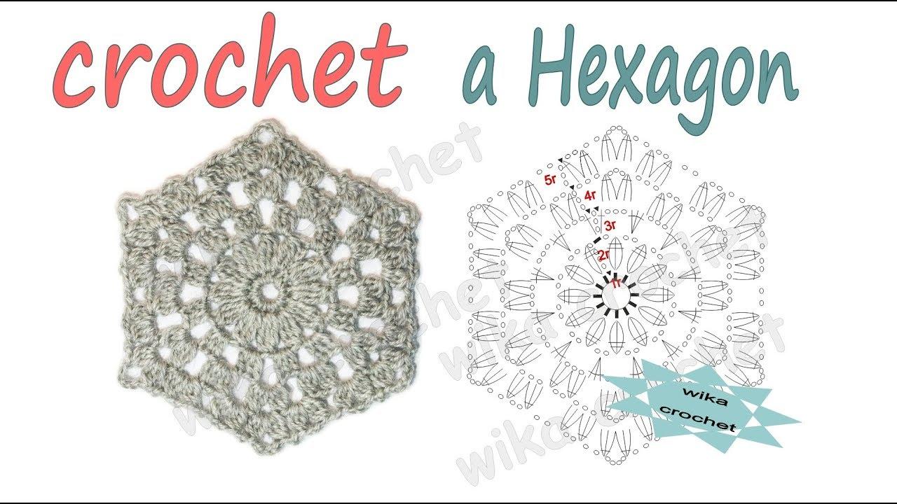 Lace Crochet Hexagon Crochet Pattern Easy Crochet How To Crochet