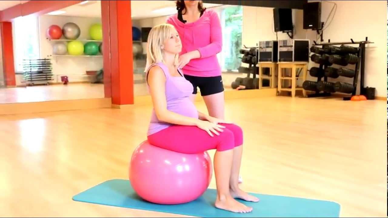 Mobilisation et étirement du dos pendant la grossesse. - YouTube 074bf6d22b9