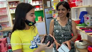 Good Earth City Centre Store Visit by TV actress, Ruhaanika Dhawan