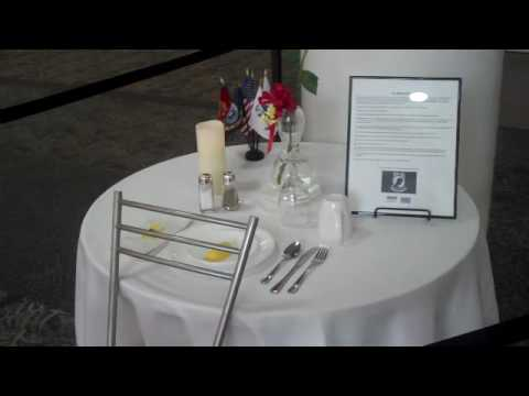 It is a photo of Luscious Missing Man Table Poem Printable