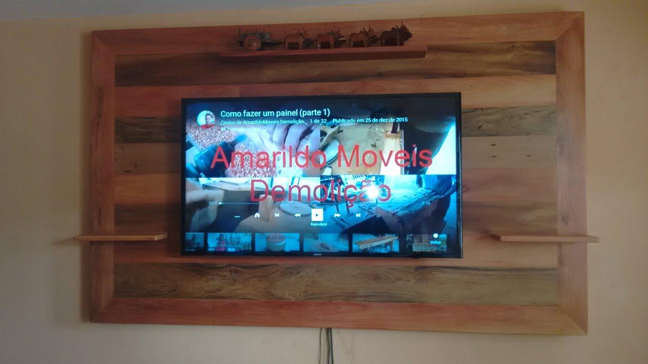 Como fazer um painel para tv (parte 1)   #0F98BC 3264x1836