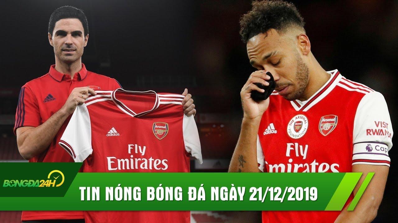 TIN NÓNG BÓNG ĐÁ 21/12   Mikel Artetal CHÍNH THỨC dẫn dắt Arsenal, Aubameyang dứt áo ra đi.