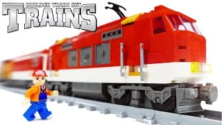 TRAINS FOR CHILDREN VIDEO: Trains Ausini 25807 Constructor Analogue LEGO Train Toys Review(TRAINS FOR CHILDREN VIDEO: Trains Ausini 25807 Constructor Analogue LEGO Train Toys Review ..., 2016-04-26T13:33:38.000Z)