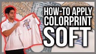 Applying ColorPrint Soft Printable Heat Transfer Vinyl