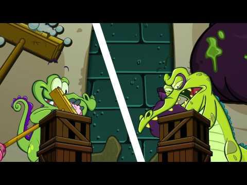 Крокодильчик свомпи игра как мультик для детей от Фаника 3