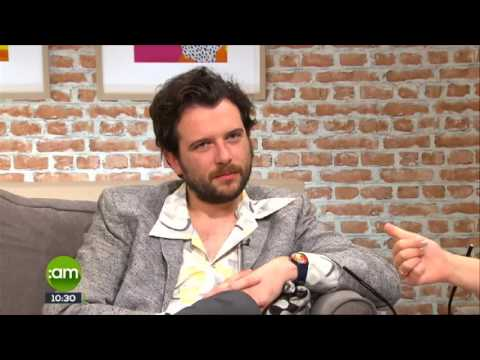 Kevin McGahern interviewed of TV3 SaturdayAm about his new film 'No Party