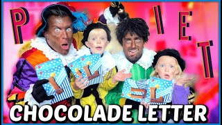 WiN DE CHOCOLADELETTER iN JOUW NAAM CHALLENGE ( COOLE PiET & ROMMEL PiET ) 🏆 | Luan Bellinga #105 YouTube Videos