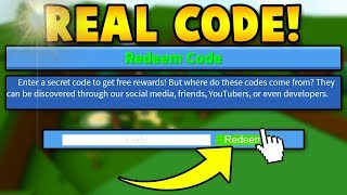 THE REAL *NEW* CODE! | Build a boat For Treasure ROBLOX