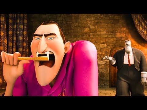 Hotel Transylvania 2 'Frank Tries On Drac's Cape'  2018 HD