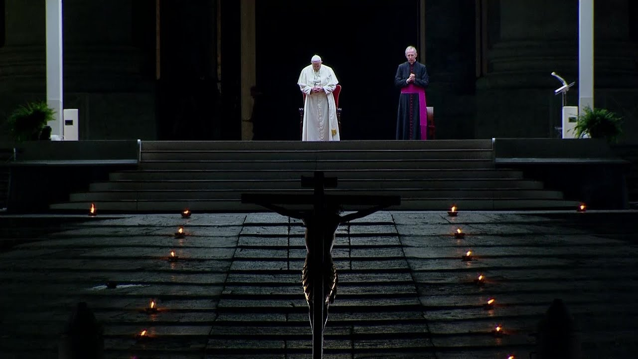 Vía Crucis del Papa en Roma