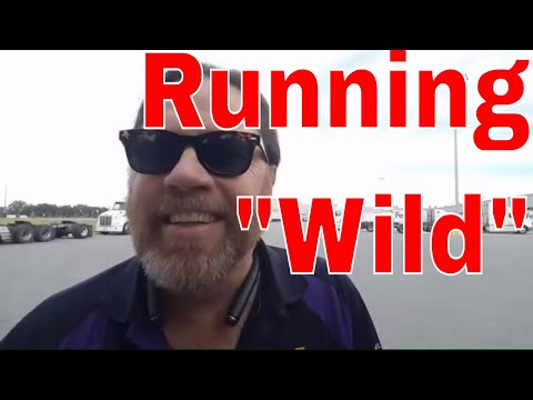 Running 'Wild' With Fedex / Red Viking Trucker