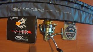 Спінінг Gad Chaser 3-14 гр. + котушка Kosadaka Viper 2000LC. Огляд снасті Федора.