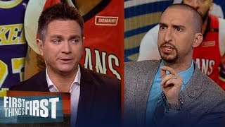 Chris Mannix doesn't blame Magic if the Lakers can't land Anthony Davis | NBA | FIRST THINGS FIRST