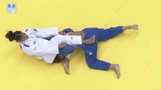 柔道グランドスラム東京 女子70kg級 3位決定戦 ポスビットvsペレス