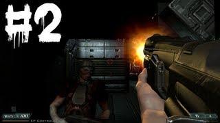 Doom 3: BFG Edition PC Gameplay / Walkthrough - Part 2 - Machine Gun