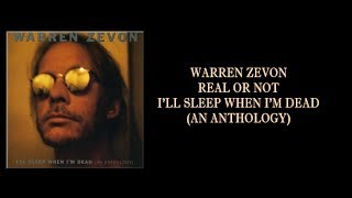 Watch Warren Zevon Real Or Not video