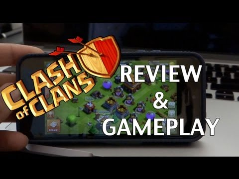 Clash Of Clans - iOS Gameplay & Review