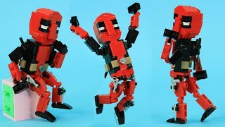 How to Build LEGO Deadpool | Custom LEGO Marvel MOC by BRICK 101