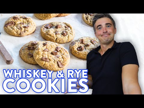We added WHISKEY & RYE to COOKIES!?