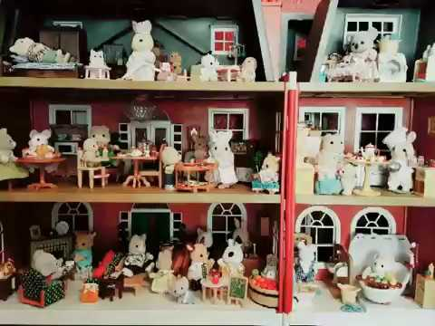 Sylvanian Families Rooms
