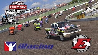 iRacing - World of Outlaws Sprint Car racing from Eldora