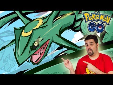 ¡ESPECTACULAR RAYQUAZA! El NUEVO POKÉMON LEGENDARIO de 3GEN en Pokémon GO!!! [Keibron]