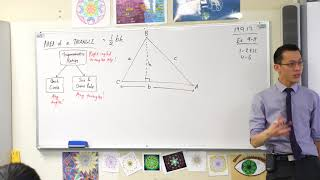 Area of a Triangle (Deriving the trigonometric formula)