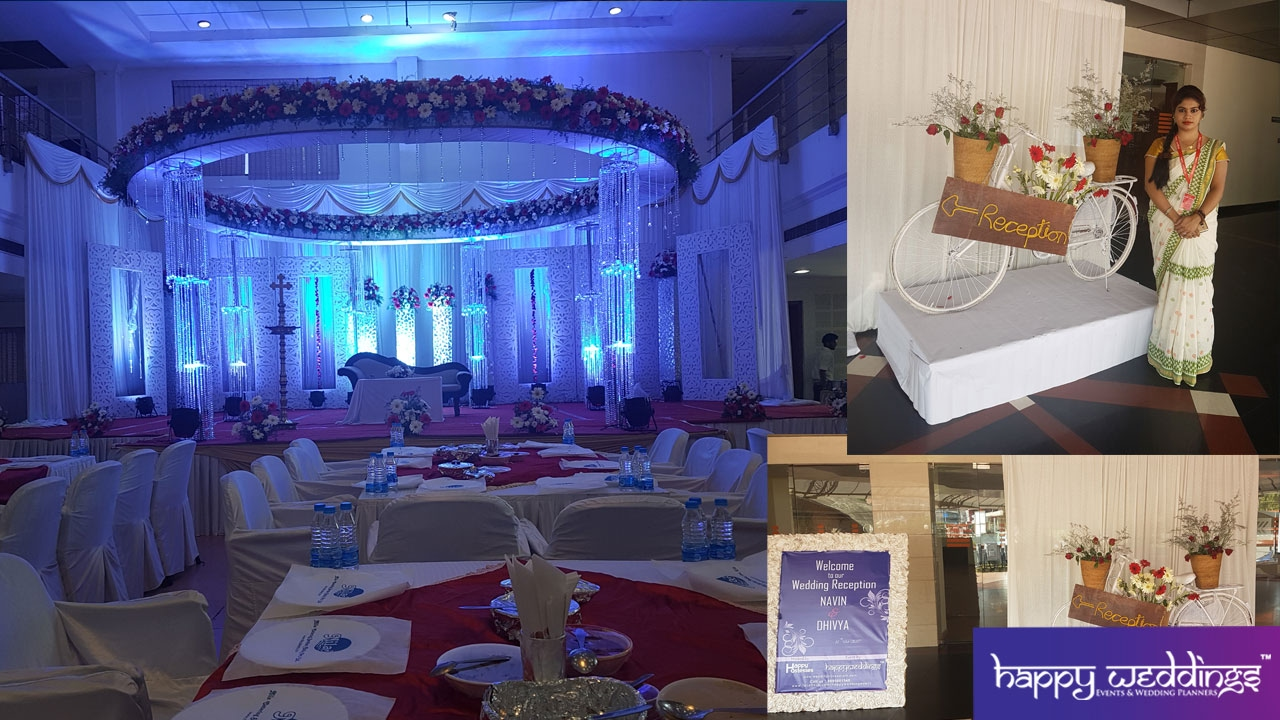 Wedding Decoration In Trivandrum Reception Stage