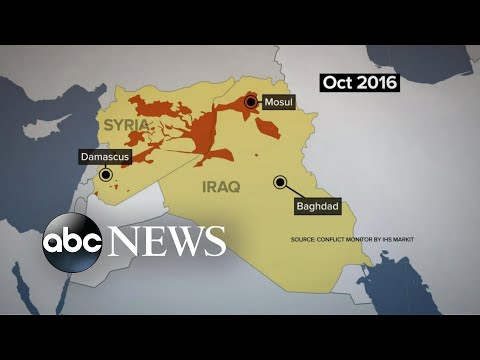 ISIS forces now